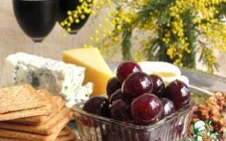 Маринованный виноград на зиму в домашних условиях: лучшие рецепты быстрого приготовления, без стерилизации, под оливки, видео