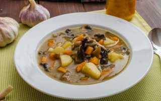 Как приготовить суп из консервированных шампиньонов с картофелем, пошаговый рецепт