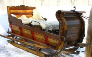 Сани для лошади (деревянные, зимние): описание видов, как сделать своими руками, чертежи, фото