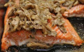 Горбуша по-царски в духовке: пошаговый рецепт с фото