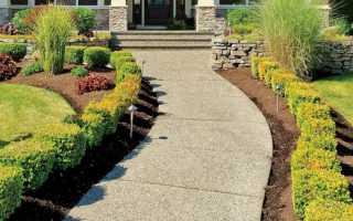 Бетонные дорожки на даче: как сделать своими руками на садовом участке из цемента, пошаговая инструкция бетонирования, как залить с малыми затратами