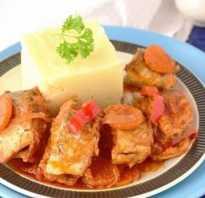 Тушёная кета: как и сколько тушить с морковью и луком на сковородке, рецепты приготовления с овощами, с помидорами и перцем