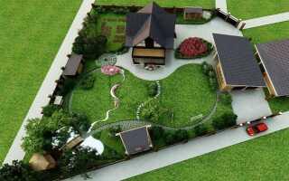 Ландшафтный дизайн на маленьком участке в 2 сотки: дачный двор своими руками, фото и идеи оформления участка перед домом