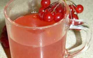 Как сварить компот из калины: рецепт из замороженных ягод, на зиму, польза и вред