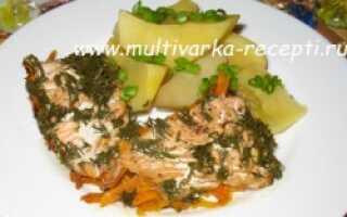 Горбуша в омлете: рецепты с фото, запечённая в духовке в яйце, приготовление на сковороде и в мультиварке с овощами