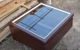 Как сделать солнечную воскотопку для любительской пасеки своими руками, чертежи