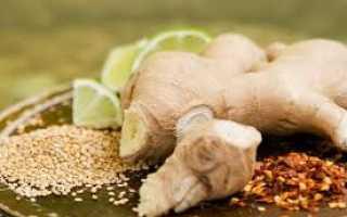 Является ли имбирь мочегонным средством, рецепты чая с корнем имбиря от отёков