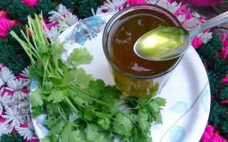 Масло петрушки: полезные свойства и противопоказания, особенности применения, как сделать в домашних условиях