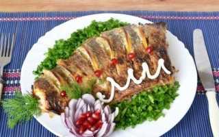 Лещ, запечённый в духовке: как приготовить целиком, чтобы не чувствовались кости, пошаговые рецепты с фото, как вкусно запечь пирог с рыбой