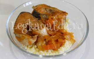 Горбуша в томатном соусе: рецепты с фото, приготовление с морковью и луком на сковороде, жареная рыба в томате