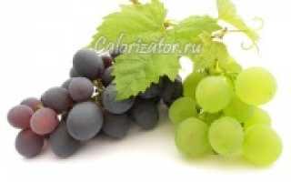 Зелёный виноград: польза и вред для организма, калорийность, химический состав и энергетическая ценность