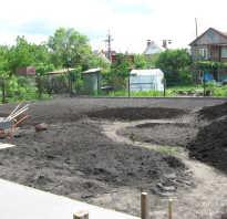 Как выровнять участок на даче своими руками под газон с травой, выравнивание земли мотоблоком и с помощью другой техники и приспособлений