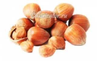 Жареный фундук: польза и вред для организма, химический состав и калорийность на 100 грамм