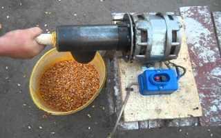 Лущилка кукурузы: описание, принцип работы, как сделать своими руками