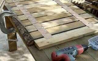 Садовая дорожка из поддонов: как сделать своими руками на даче из старых паллет, пошаговая инструкция и наглядный пример с фото