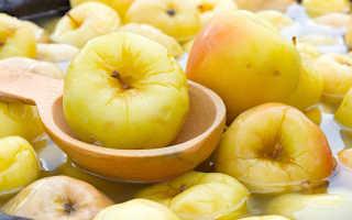 Мочение яблок с ржаной мукой в домашних условиях