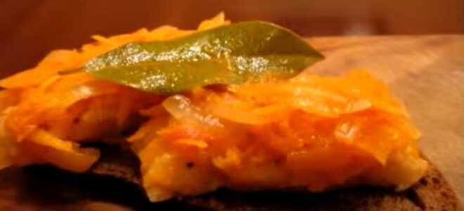 Горбуша под маринадом из моркови и лука: классический рецепт с фото, как приготовить жареную рыбу, филе горбуши в духовке и в мультиварке