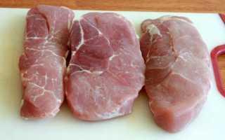 Свинина с шампиньонами в сливочном соусе, рецепт, на сковороде и в духовке