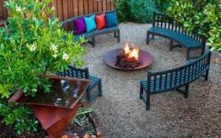 Ландшафтный дизайн зоны отдыха: круглая площадка дачного участка, как выбрать место для зоны отдыха и оформить его в ландшафтном дизайне, фото