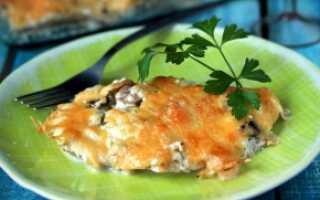 Куриное филе с шампиньонами и сыром: как приготовить быстро и вкусно, простой пошаговый рецепт с фото