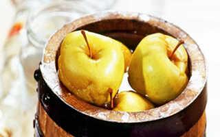 Как мочить яблоки в капусте: простые рецепты в домашних условиях, приготовление