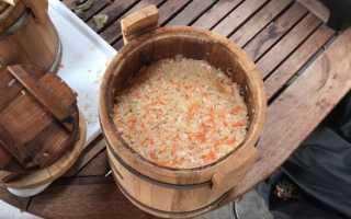 Квашеная капуста с чесноком: самые вкусные рецепты, способы хранения