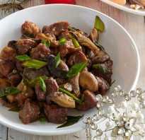 Свинина с шампиньонами: рецепты приготовления со свежими и консервированными грибами
