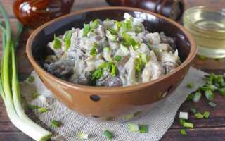 Жареные вешенки с луком в сметане, как вкусно приготовить грибы, простой пошаговый рецепт приготовления с фото